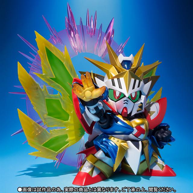 驅散世界黑暗的勇者爆熱登場!SDX《新SD鋼彈外傳 黃金神話》太陽騎士神鋼彈(太陽騎士ゴッドガンダム)