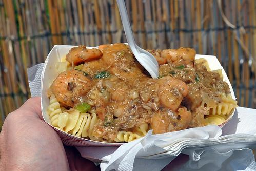 Cajun Shrimp and Duck Pasta