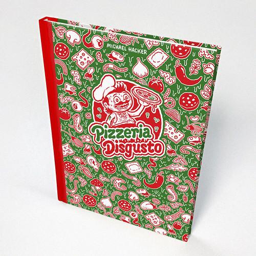 Pizzeria Disgusto cartoon book