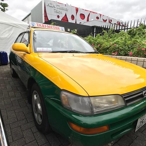 タイのタクシーが日本のナンバー! #thailand #exolenszeiss #exolenszeissiphone