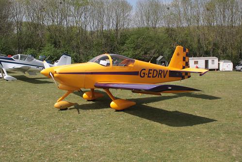G-EDRV Vans RV-6A Popham 070517