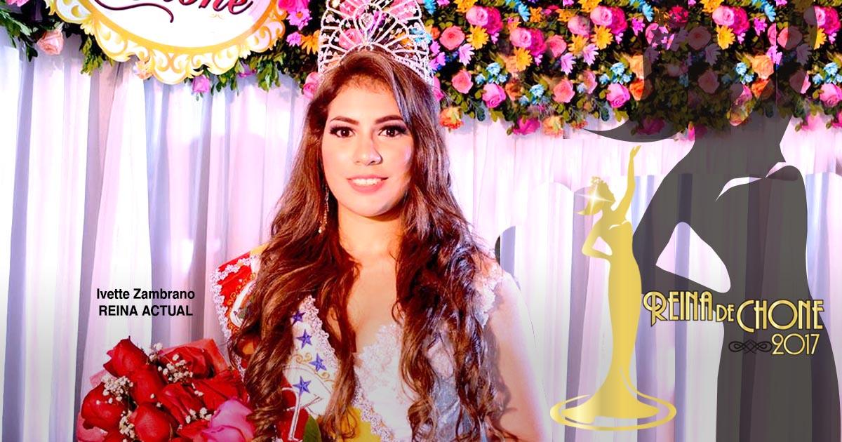 Reina de Chone 2017 se elegirá por Jurado Calificador