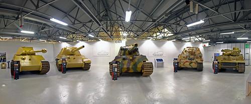 New Tiger Tank Display at Bovington tank museum