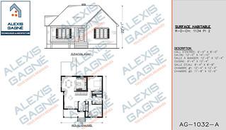 Plan de maison 1 étage - MM1e.11
