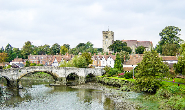 Bridge over the Medway at Aylesford