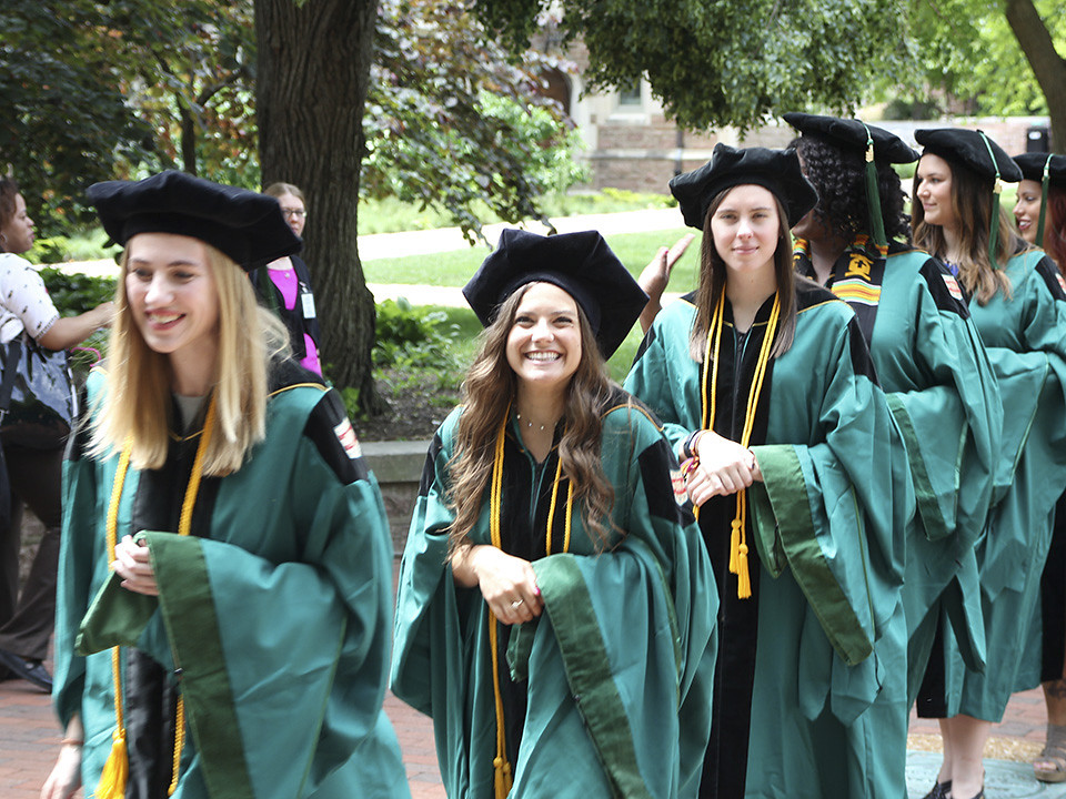 Occupational Therapy: Diploma Ceremony