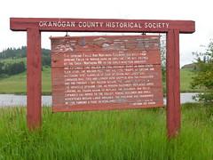 Molson Railroad History Marker