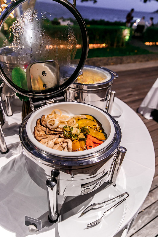 roasted vegetables, roasted veggies, seafood bbq, Starwood, the luxury collection of hotels and resorts, SPG, SPG life