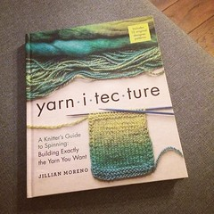 Lovely birthday present from my friend Tiko. I'm falling down a rabbit hole made of fiber! #yarnygoodness #bookstagram #yarnaddict #fiberlove #bookaddict #knittersofinstagram