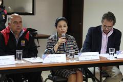 04/24/2017 - 13:15 - Quito, 24 de abril de 2017 (Andes).- Rocío González esposa del presidente electo Lenín Moeno, participó en una reunión con representantes de Nicaragua y El Salvador  para tratar sobre programas para discapacitados. ANDES/Micaela Ayala V.