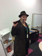 Detective Wendy on the case
