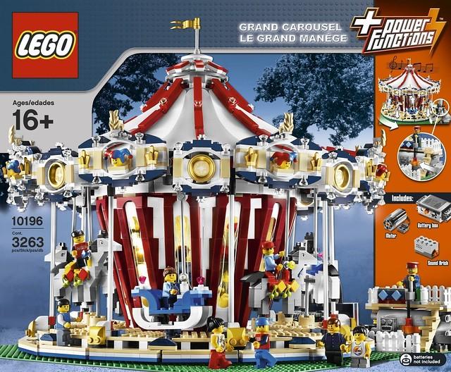 五種動物一次擁有!LEGO 10257【創意大師系列】 旋轉木馬 Carousel
