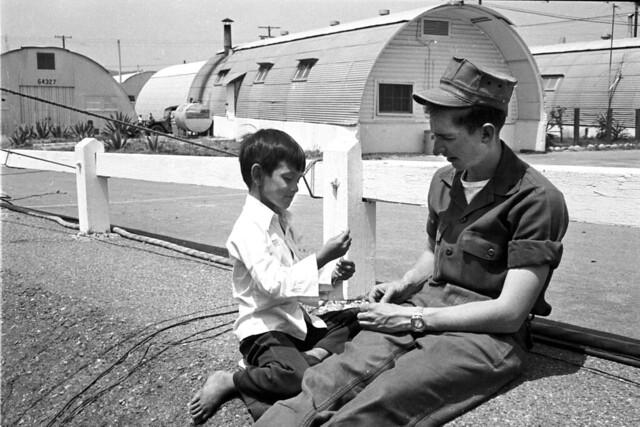 Camp Pendleton - Vietnamese Refugees