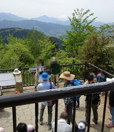 高尾山の見晴台