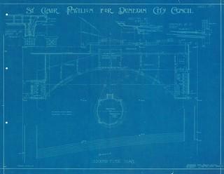 St Clair Pavilion Plan, 1917