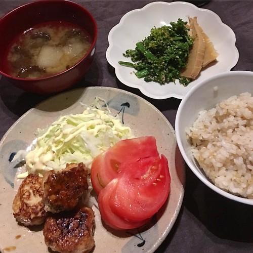 晩ご飯(ΦωΦ) #japanesefood #japanese #dinner