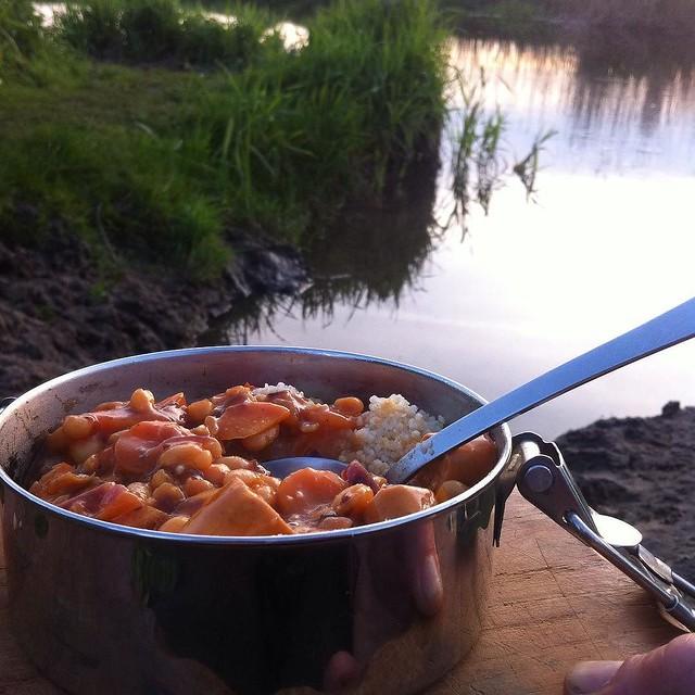 Guten Appetit #food #outdoorküche #radtour #spree
