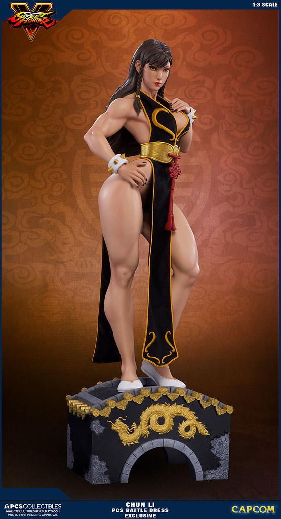 Pop Culture Shock 【春麗】1/3比例雕像 戰鬥服限定版 CHUN LI 1:3 Statue Battle Dress Exclusive