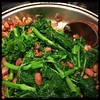 #rapini and Romano #beans #Homemade #CucinaDelloZio - mix with beans