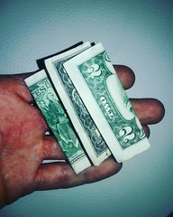#two #twodollarbill #fourtyfour #hand #money #esoroticmagazine $$ $$$$ Get a PDF preview of #esoroticmagazine  First 20 pages^^^^