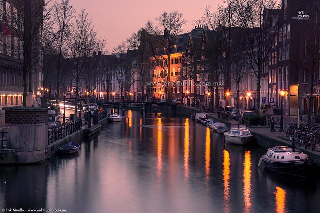 Amsterdam y sus canales