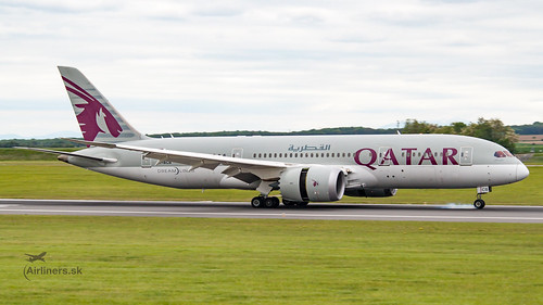 A7-BCB Boeing 787 Dreamliner, Qatar airways