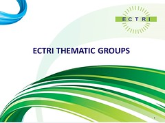 ECTRI Thematic Groups Meetings