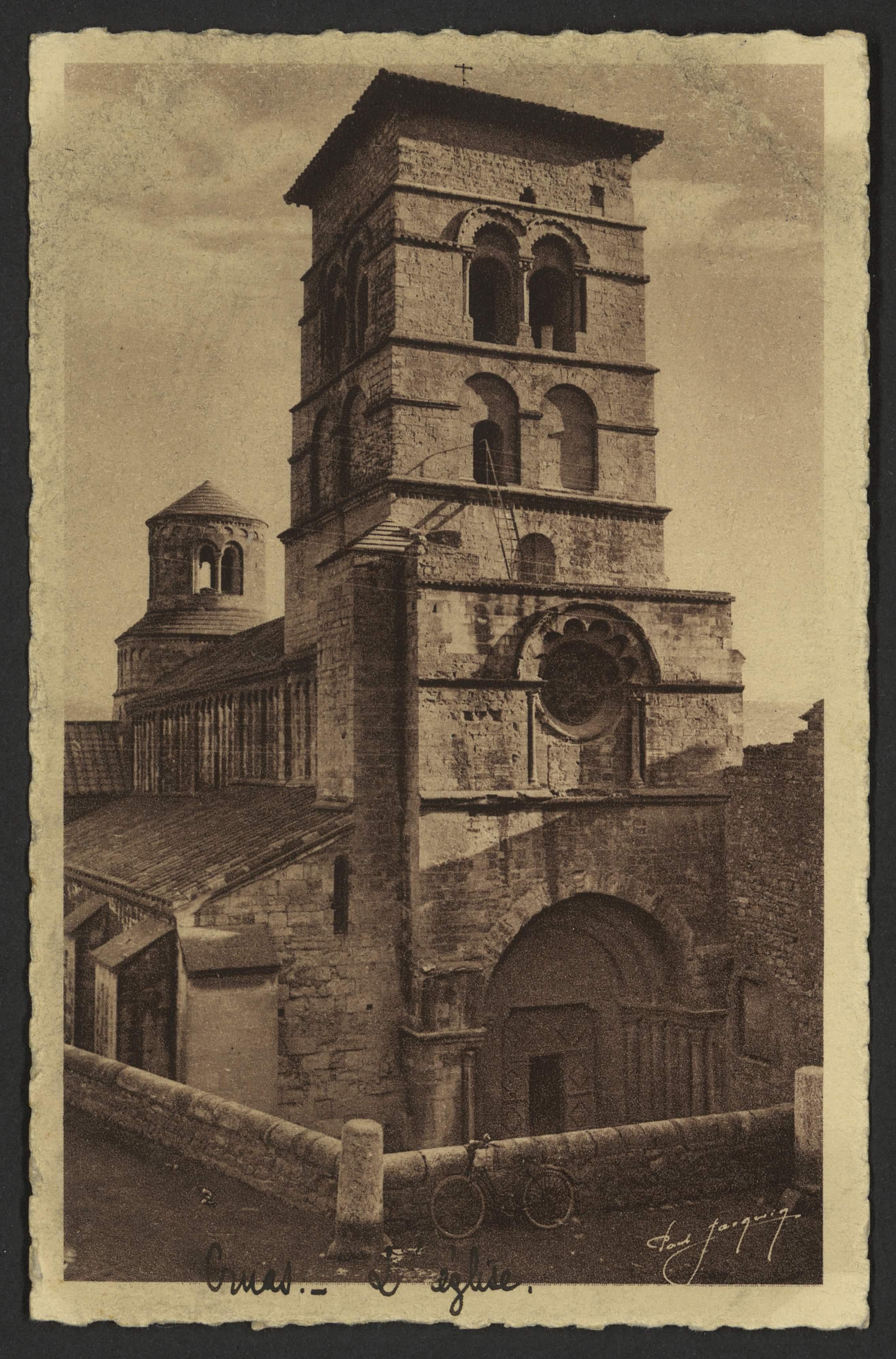 Cruas - Eglise romane - Roman Church