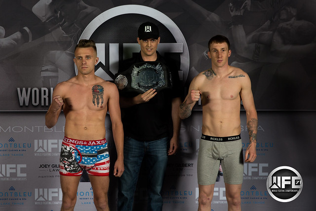 WFC 71 Weigh-Ins at Montbleu 5/5/17