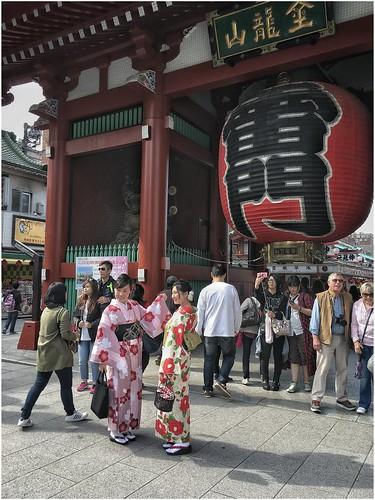 At Asakusa (Tokyo)