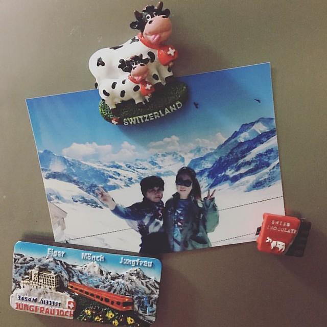 ����終於有時間打了點照片⋯( ー̀εー́ ) ❤️❤️ #jungfrau #topofeurope #JFinswiss #trip2017