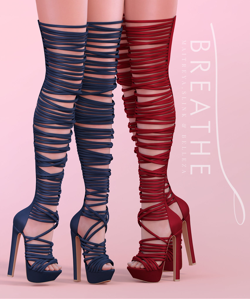 [BREATHE]-Robyn Heels - SecondLifeHub.com
