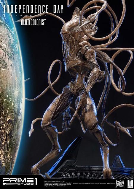 Prime 1 Studio【ID4 星際重生:外星殖民者】Alien Colonist 1/4 比例超巨大全身雕像