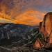 Half Dome at Sunset from the Diving Board - Yosemite by Bruce Lemons