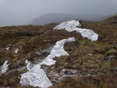 2017 May12 - More Quartz with Lavagh Beg behind.