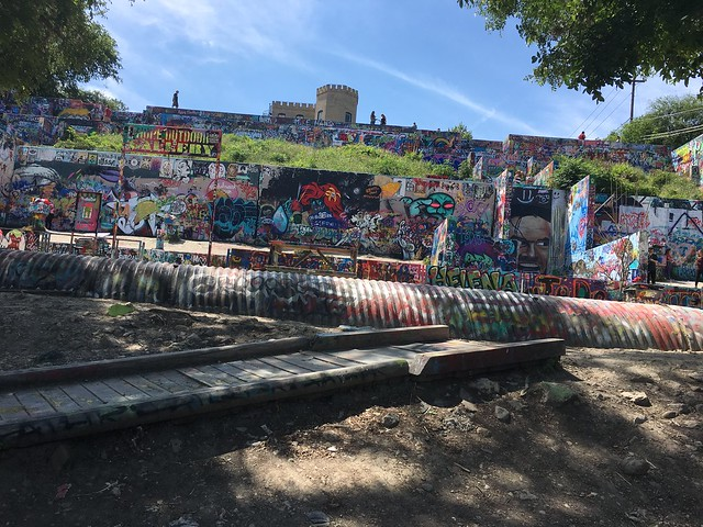 Saying goodbye to Austin - the Hope outdoor graffitti gallery