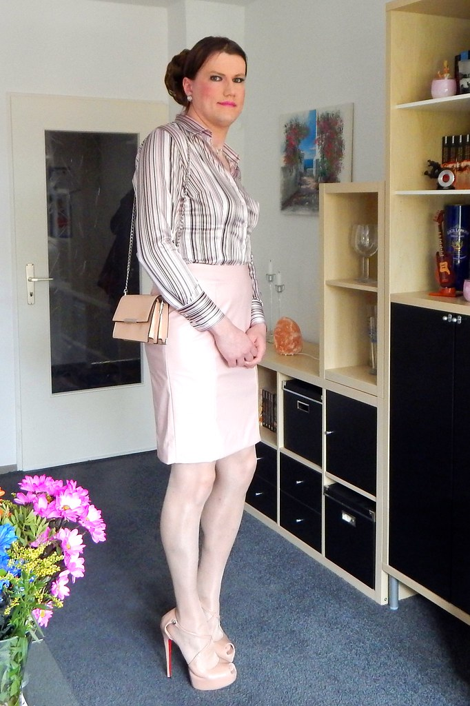 Sissy Secretary  Dressing Up As A Secretary Is So Much -7690