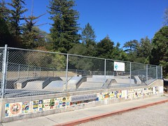 Jim Keeffe Skate Park community tile mosaic