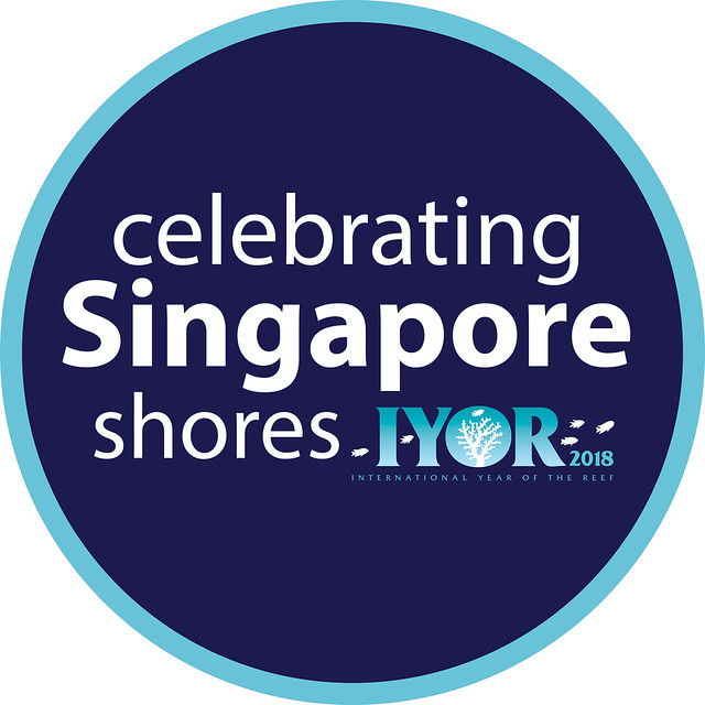 Celebrating Singapore shores for IYOR 2018 logo