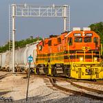 DGNO 3496 | EMD SD40-2 | BNSF Madill Subdivision