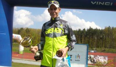 Kučera opět zkusil půlmaraton KVOK, letos jasně vyhrál