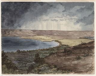 View of Standing Buffalo's Reserve, part of the pre-1905 Northwest Territories, Qu'Appelle, Saskatchewan / Paysage de la réserve de la bande de Standing Buffalo, faisant partie des Territoires du Nord-Ouest avant 1905, Qu'Appelle (Saskatchewan)