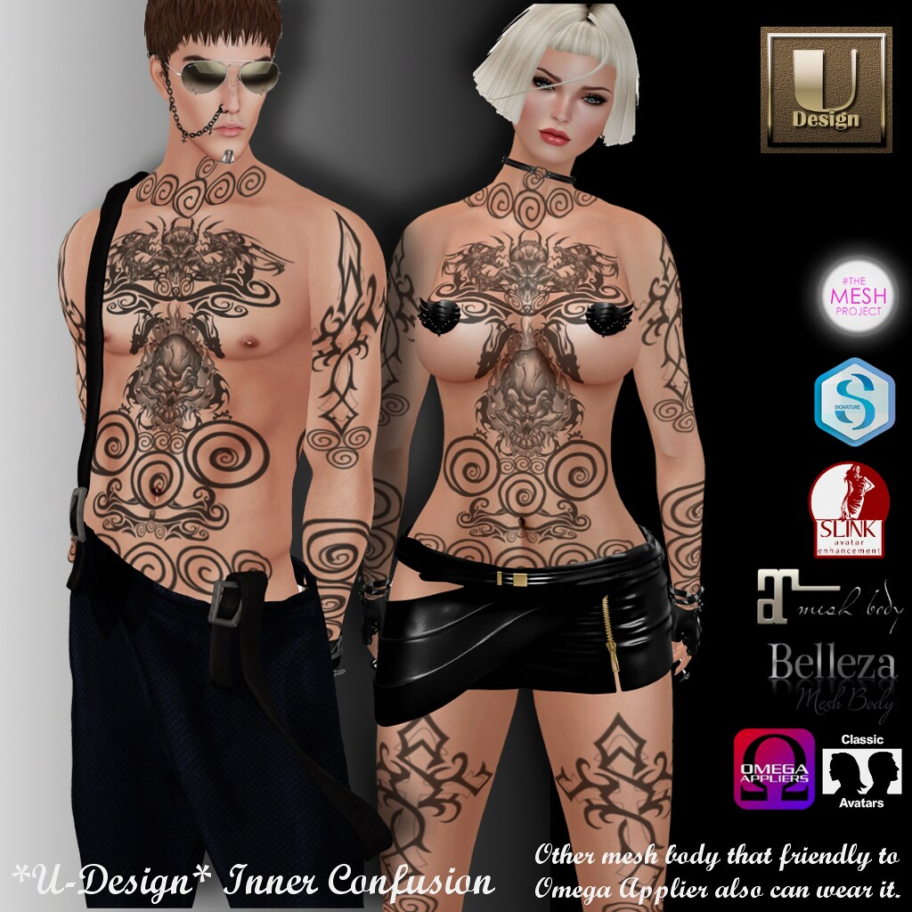 U-Design @ Darkness monthly event - SecondLifeHub.com