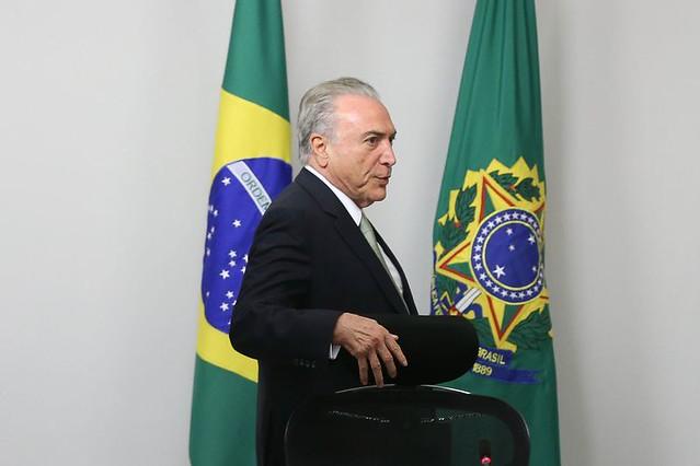 Presidente Michel Temer se reúne con ministros - Créditos: Agência Brasil