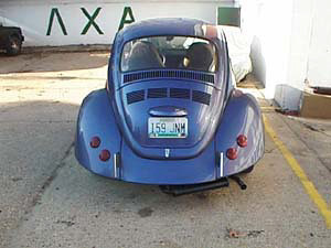 1973 VW Super Beetle Rear End