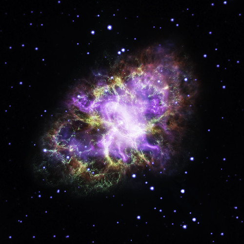 Everyone Looks at the Crab Nebula
