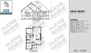 Plan de maison 1 étage - MM1e.15
