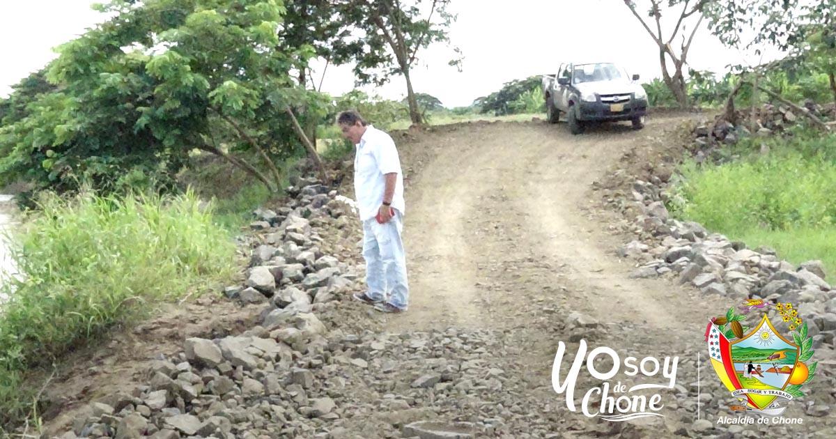 Mejoran el acceso a la estación de bombeo de agua en la parroquia San Antonio de Chone
