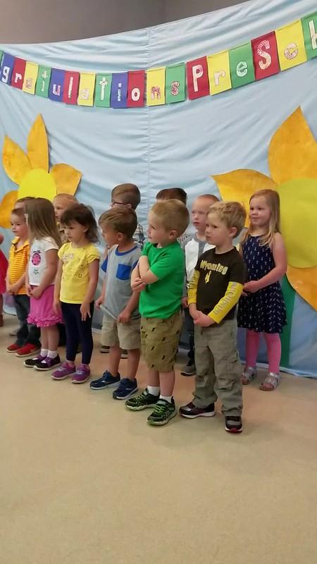 Cole Preschool Program (with co-star Landon)