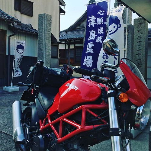 常楽禅寺さんへ御参りにまいりました #japanese #temple #ducati #ducatimonster